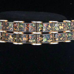 Vintage Paneled bracelet